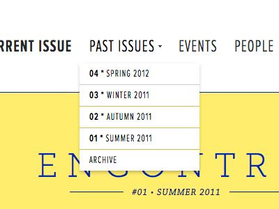 Submenu proxima nova extra condensed museo slab chaparral web portugal white yellow black blue