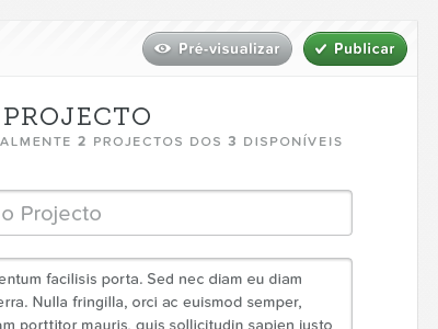 Gallery — User controls portugal web white black typography proxima nova soft museo slab gallery forms text area entypo button controls