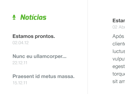 KeepTrack — News feed portugal white black green keeptrack gps helvetica exo non-profit icon iconsweets2 news feed