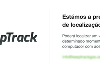 KeepTrack — Coming soon page