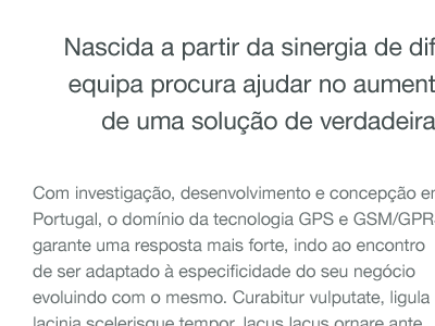 KeepTrack — About page portugal white black keeptrack gps helvetica non-profit about