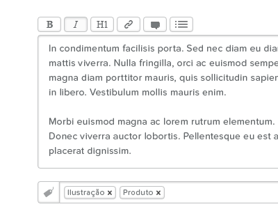 Gallery — Markdown Textarea Toolbar portugal web white black proxima nova soft gallery forms textarea markdown toolbar
