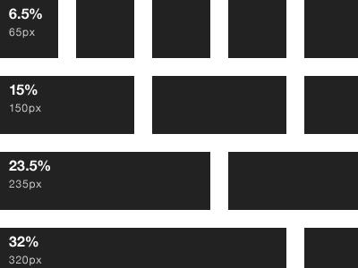 elliot s 1000px responsive grid 12 col by pedro pinto dribbble