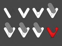 Vivaldi logo process
