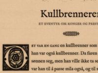 Eventyr Typography