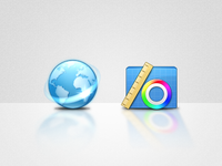Dragonfly Network & Utilities icons