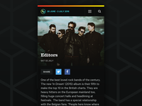 Rock Werchter mobile view