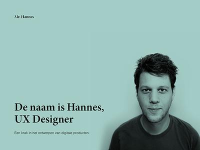 Mr Hannes
