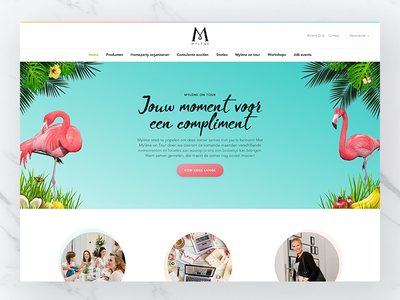 Mylène homepage