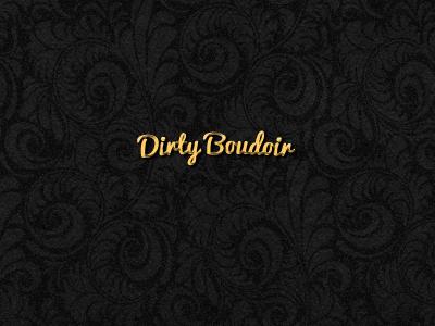 Dirty Boudoir logo gold