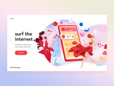 web illustration/uiux/part6
