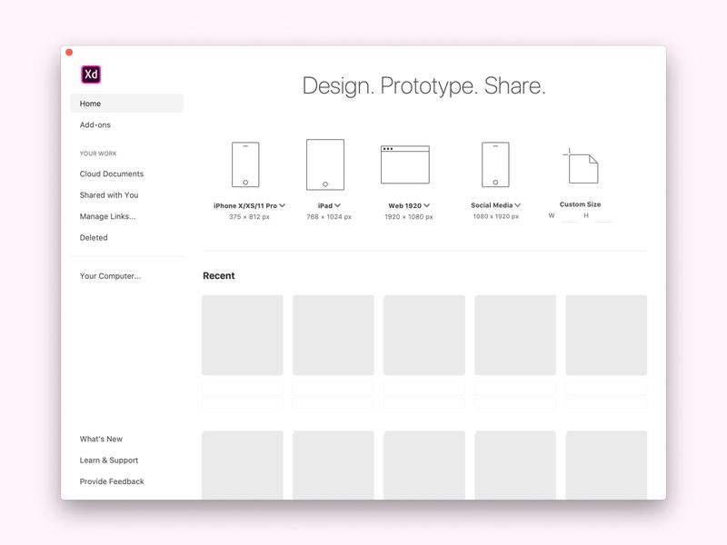 #RandomXD: Social media artboards for Adobe XD madewithadobexd request suggestion branding design ux ui xd design adobe artboards adobexd