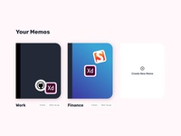 Stickers for #MemoApp #usememo madewithxd adobexd memo memos notebooks notes