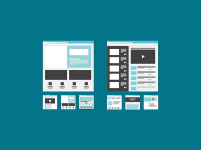 Wireframes  wireframes free wireframing icons ai illustrator sketch
