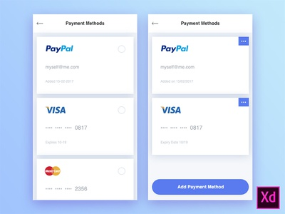 Freebie - Payment Methods
