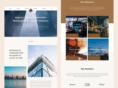 Homepage explorations sketch ux ui website design