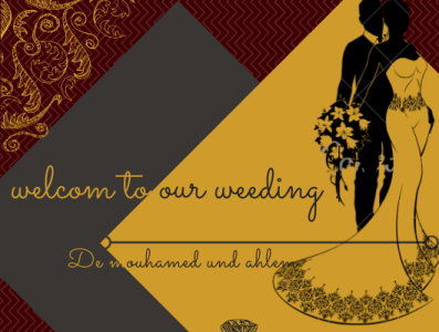 welcom to our weeding    1