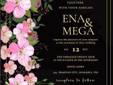 wedding invitation card background