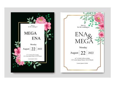 Wedding invitation set bundle