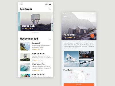Travel App UI design clean design travel agency travel app traveling travel mobile app design mobile app ui mobile design mobile app mobile ui mobile