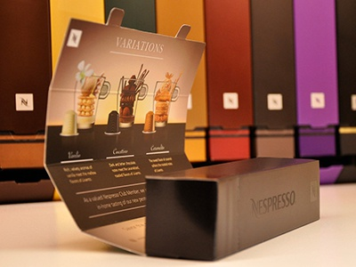 Nespresso Packaging by Luis Acosta | Dribbble | Dribbble