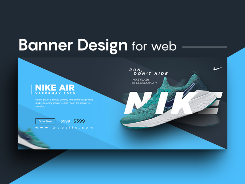 Facebook cover / web banner simple typography facebook cover banner design social media simple design normal facebook banner creative design branding
