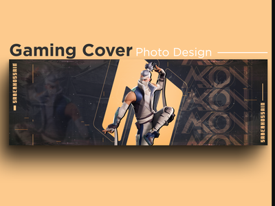 Cover photo Gaming / Banner Design for web / Gaming banner banner design valorant pubg game of thrones branding creative design social media design thumbnail design thumbnail youtube banner gaming banner facebook banner facebook cover typogaphy ui ux gaming gammer fortnite need for speed
