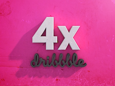 4x Dribbble Invites dribbble invites dribble invite