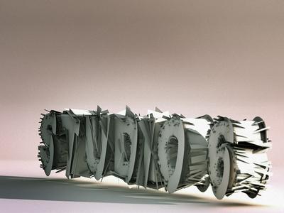 Studio6.. 3d paper wallpaper
