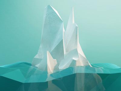 Low-Poly Iceberg