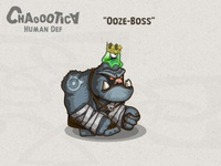 Mobile android game: Ooze Boss