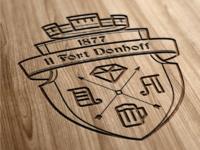 """11 Fort Dönhoff"" Logo"