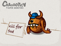 Mobile android game. Kill for food =)