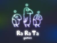 """Ra Ra Ta"" Logo +"