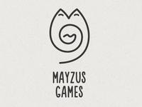 """Mayzus Games"" logo"