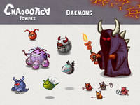 Mobile android game: Daemons