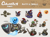 Mobile game: Rats And Skulls