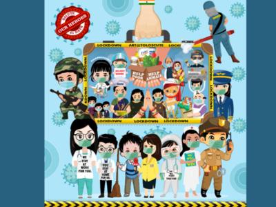 Corono Virus Heroes.