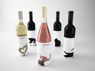 Kalahari's wine - 3D Render (design by Luca Pontarelli)