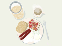 Beige Breakfast