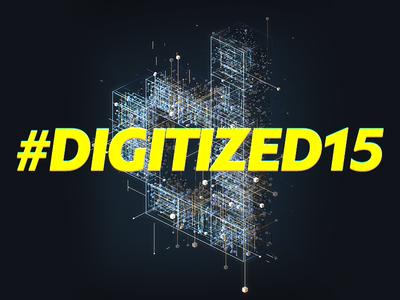 #Digitized15 Key Visual