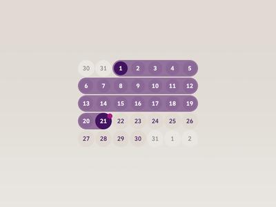 Calendar in Sketch
