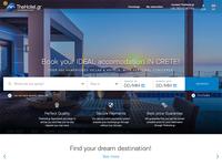 Villa/Hotel booking homepage redesign