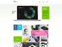 Bureau Oberhaeuser Homepage Redesign