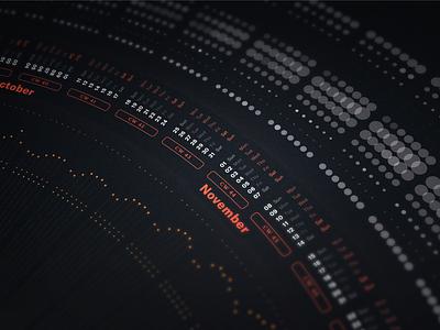 Bureau Oberhaeuser Calendar 2021 poster data data visualization dataviz 2021 2020 calendar information design