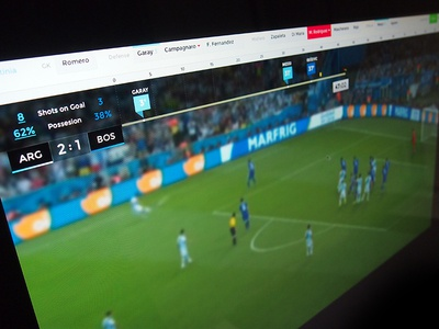 World Cup On-Air Redesign world cup score on-air on-air-design football soccer sport television tv brazil