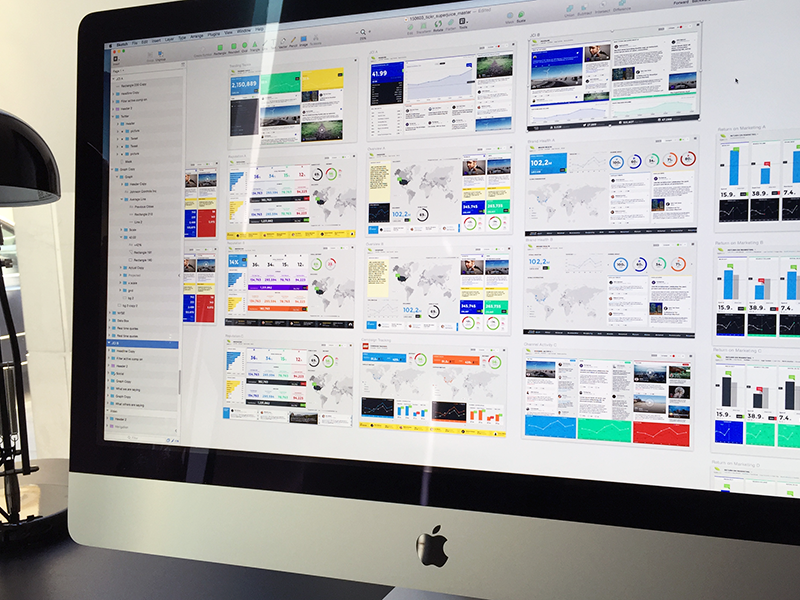 Tickr Masterfile data visualization sketch information design dashboard web design user interface interface ux ui