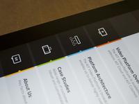 Kit Digital iPad App Menu