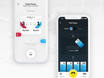 tackl Football Prediction App premiere league soccer football tippspiel sports betting betting sport app interface user interface ux ui