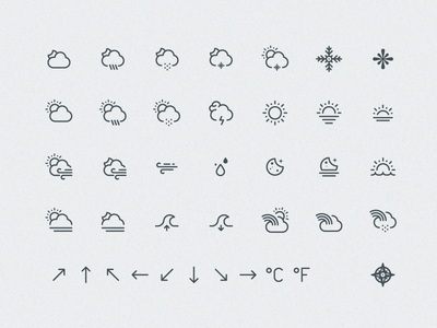 Weather Icons icon icon set icons weather weather icons weather icon